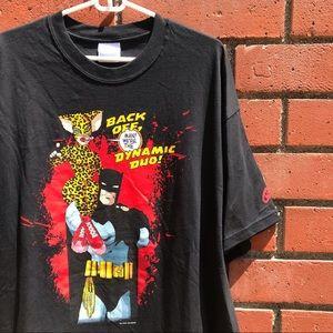 🚫SOLD 01 Batman Catwoman DC Comics Graphic Tee